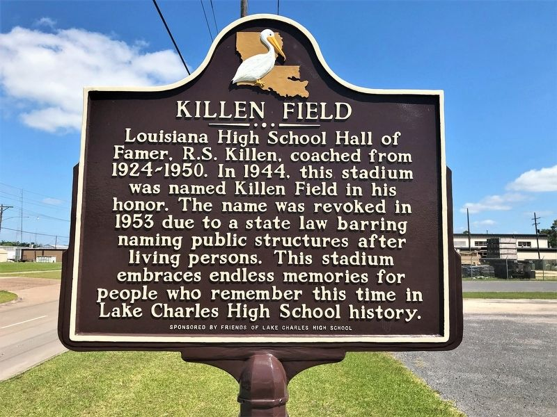 Killen Field Marker image. Click for full size.