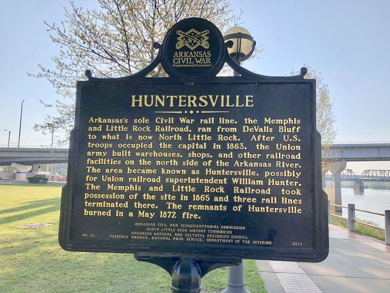 Huntersville Marker image. Click for full size.