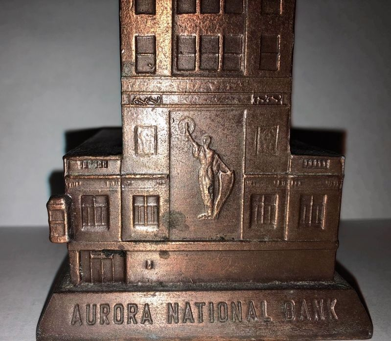 Aurora National Bank Building image. Click for full size.