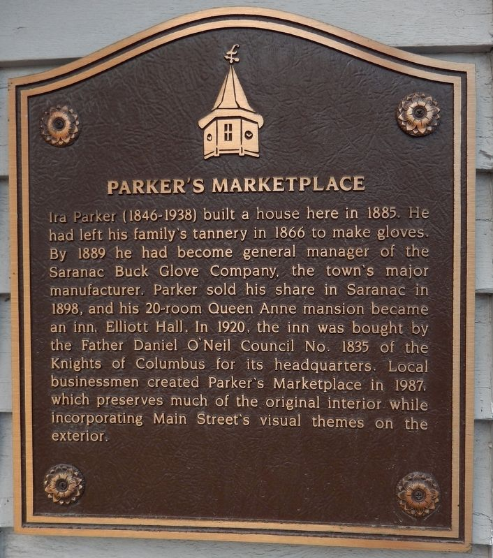 Parker's Marketplace Marker image. Click for full size.