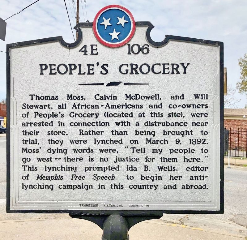 People's Grocery Marker image. Click for full size.