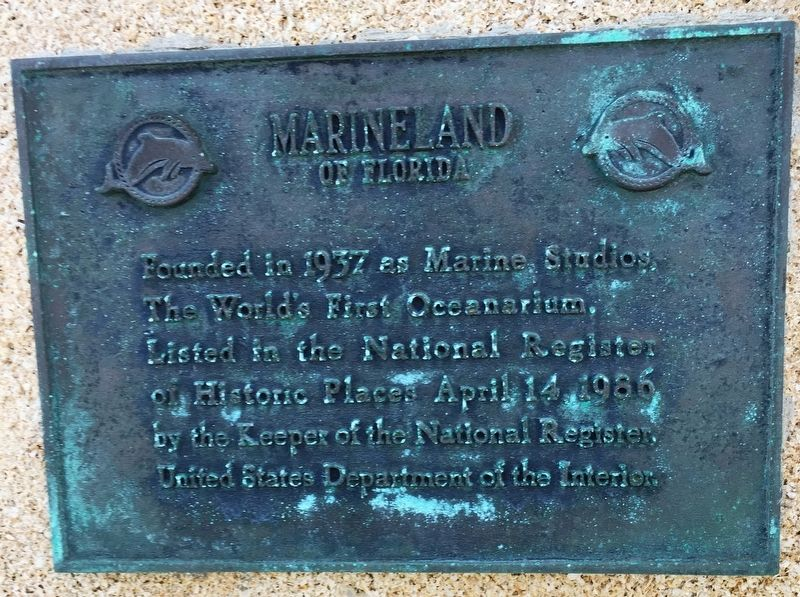 Marineland Marker image. Click for full size.