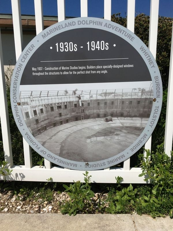1930s-1940s Marineland Marker image. Click for full size.