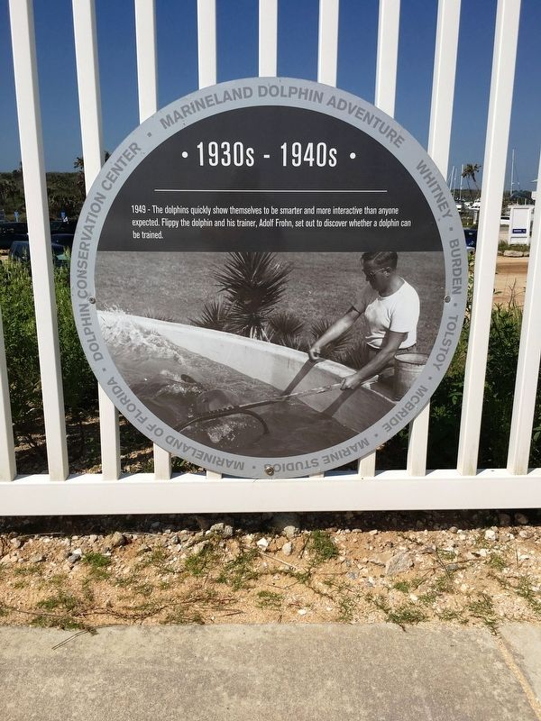 1949- Marineland Marker image. Click for full size.