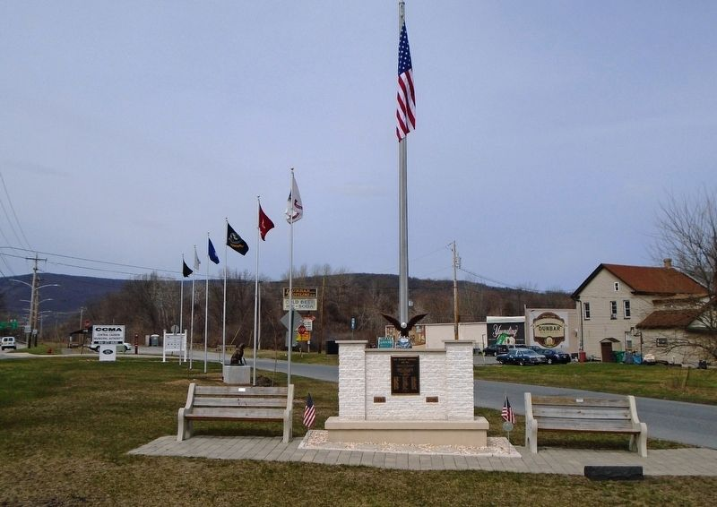 Lehighton Area WWII Honored Dead Memorial image. Click for full size.