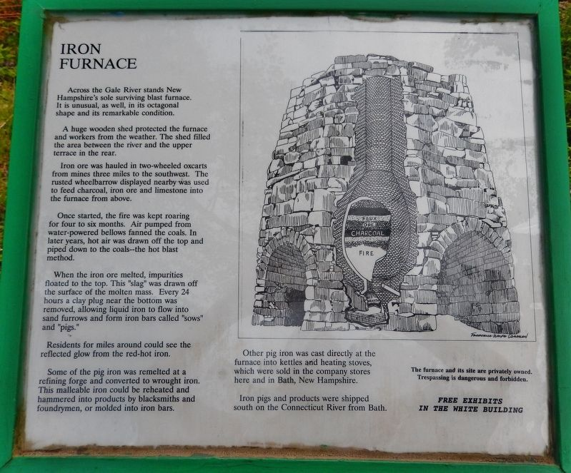 Iron Furnace Marker image. Click for full size.
