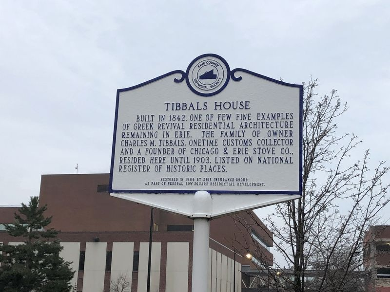 Tibbals House Marker image. Click for full size.