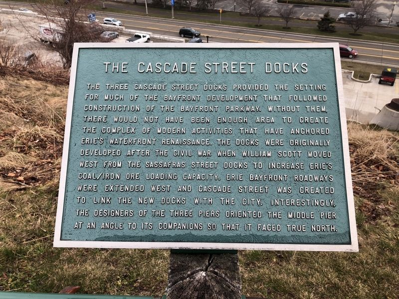 The Cascade Street Docks Marker image. Click for full size.