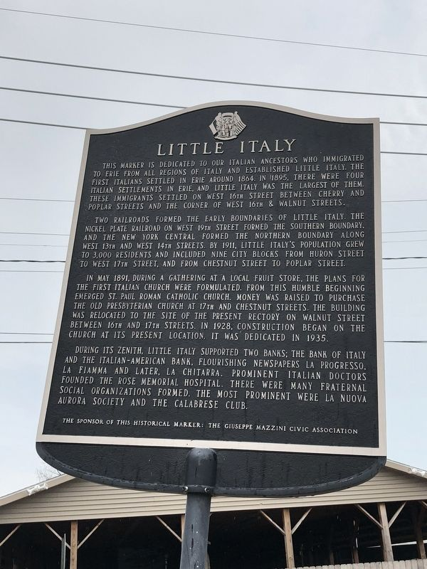 Little Italy Marker image. Click for full size.