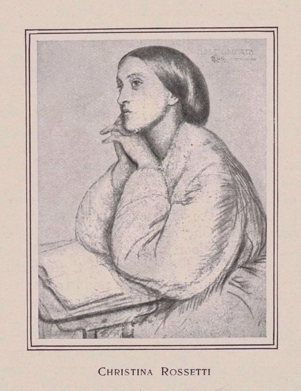 Christina Rossetti image. Click for full size.