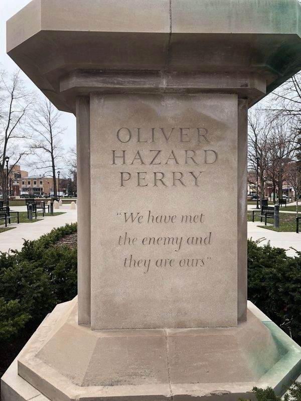 Oliver Hazard Perry Marker image. Click for full size.