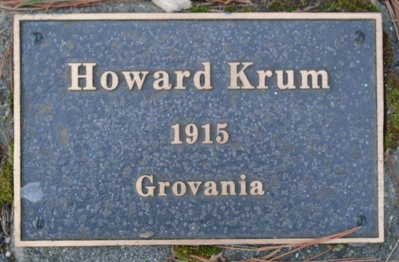 War Hero Memorial Pinery Krum Marker image. Click for full size.
