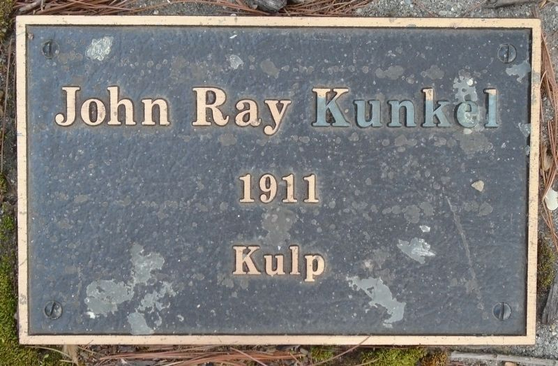 War Hero Memorial Pinery Kunkel Marker image. Click for full size.