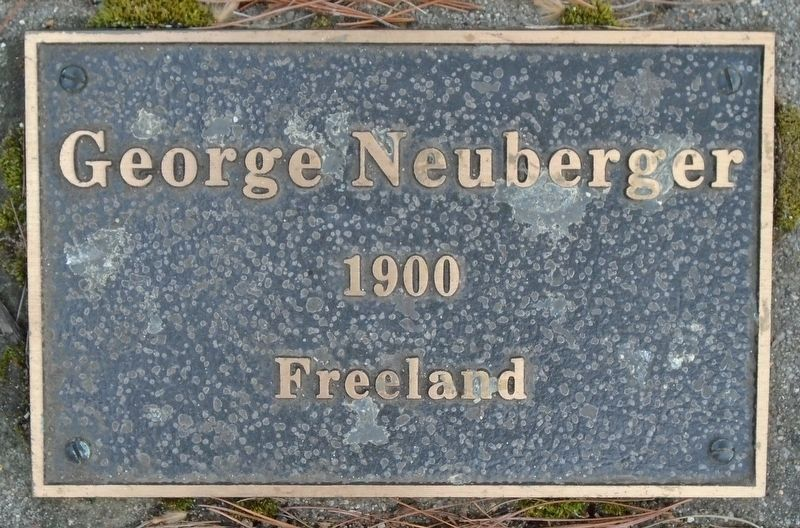 War Hero Memorial Pinery Neuberger Marker image. Click for full size.