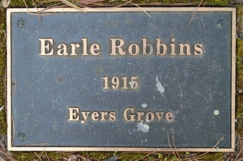 War Hero Memorial Pinery Robbins Marker image. Click for full size.