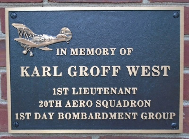 War Hero Memorial Pinery West Marker image. Click for full size.