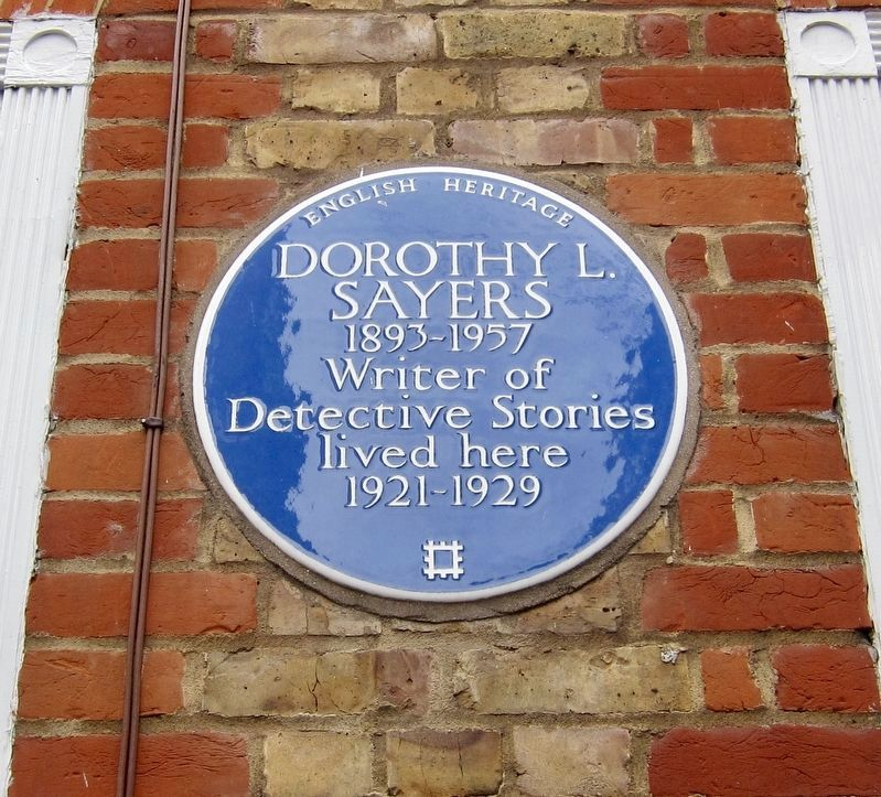 Dorothy L. Sayers Marker image. Click for full size.
