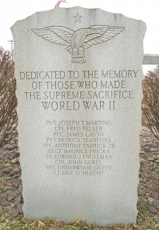World War II Honored Dead image. Click for full size.