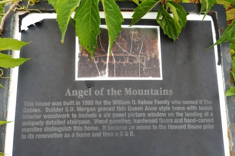 Angel of the Mountains Marker image. Click for full size.