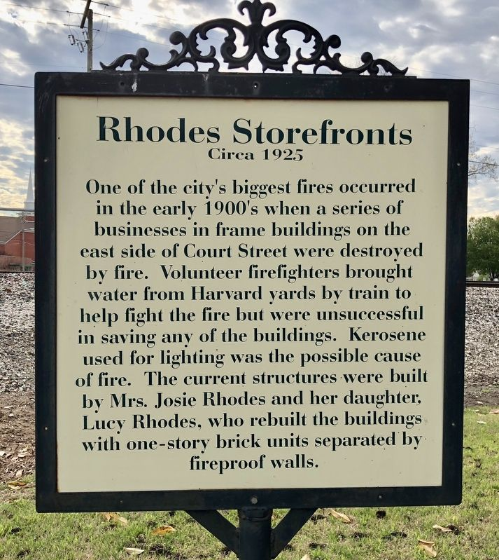 Rhodes Storefronts Marker image. Click for full size.