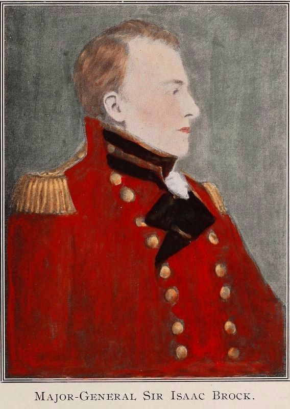Major General Sir Isaac Brock image. Click for full size.