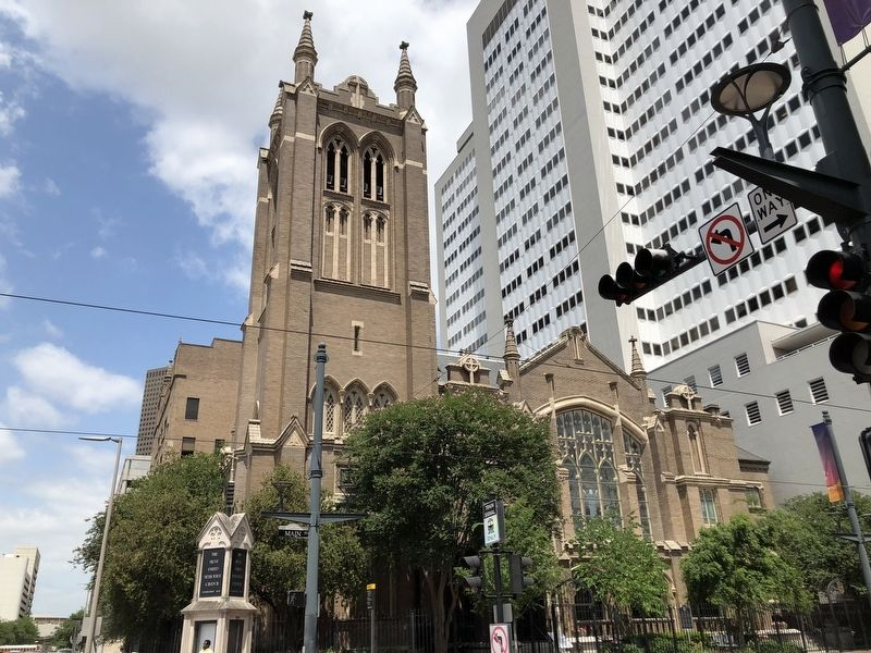 First United Methodist Church of Houston image. Click for full size.
