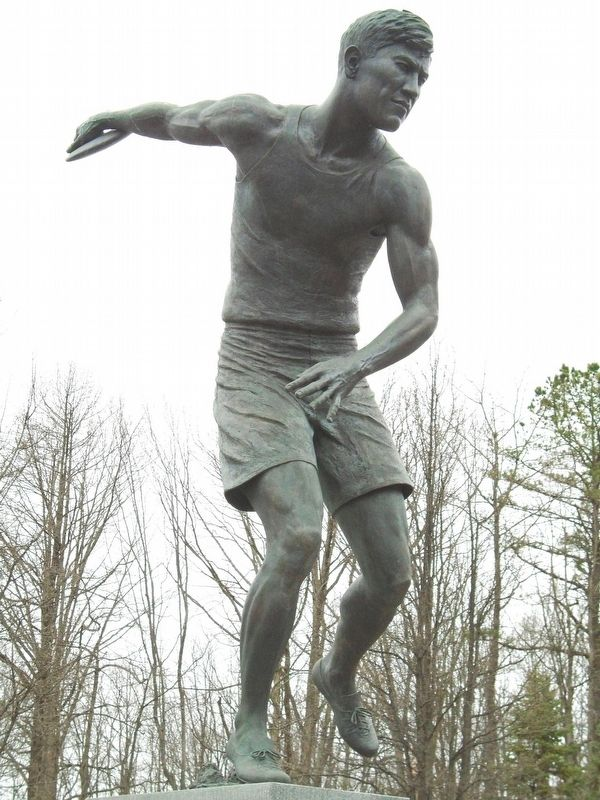 James Francis Thorpe Olympian Statue image. Click for full size.
