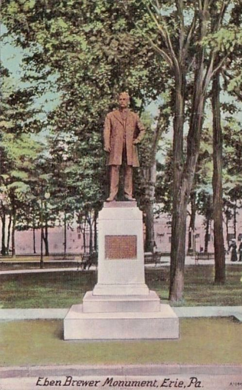 <i>Eben Brewer Monument, Erie, Pa.</i> image. Click for full size.