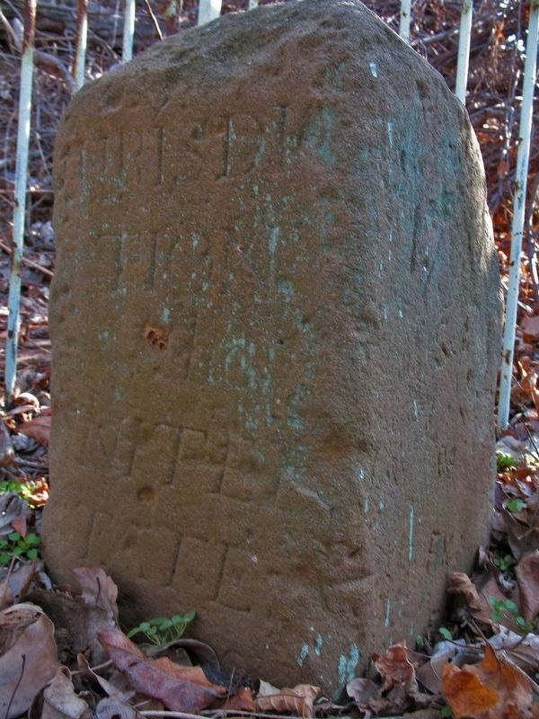 Original Federal Boundary Stone SE 9 image. Click for full size.