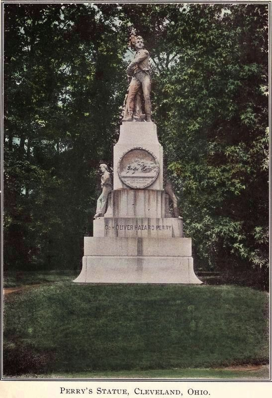 Perry's Statue, Cleveland, Ohio image. Click for full size.