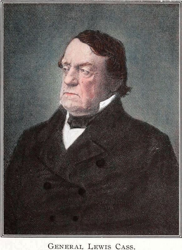 General Lewis Cass image. Click for full size.