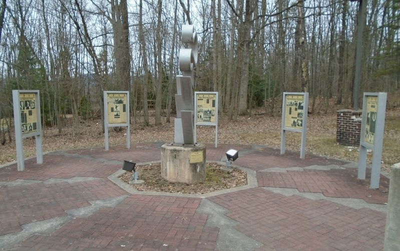 Jim Thorpe Markers at Jim Thorpe Memorial image. Click for full size.