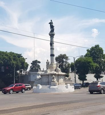 Miguel Garcia Granados monument image. Click for full size.