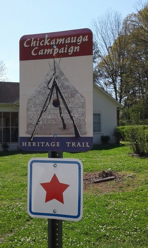 Alpine, Georgia (Chickamauga Campaign) Marker image. Click for full size.