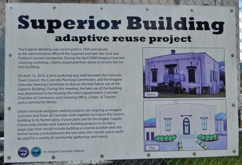 Superior Building - Additional Interpretive Panel <i>(click on photo to enlarge)</i> image. Click for full size.
