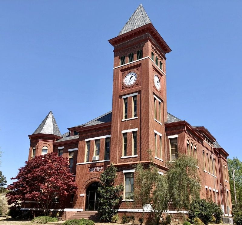 The Woodruff County Courthouse image. Click for full size.