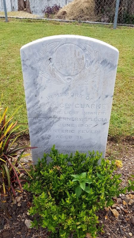 An example of a non-war grave at the cemetery image. Click for full size.