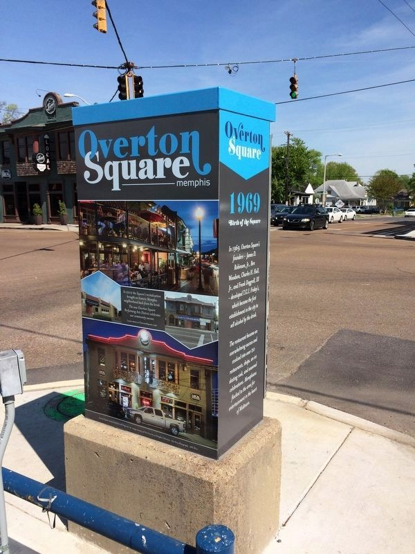 Overton Square Marker image. Click for full size.