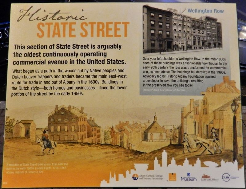 Historic State Street Marker image. Click for full size.