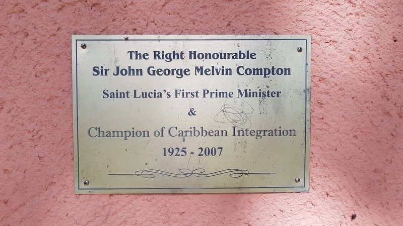 Sir John George Melvin Compton Marker image. Click for full size.