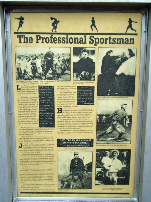 The Professional Sportsman Marker image. Click for full size.