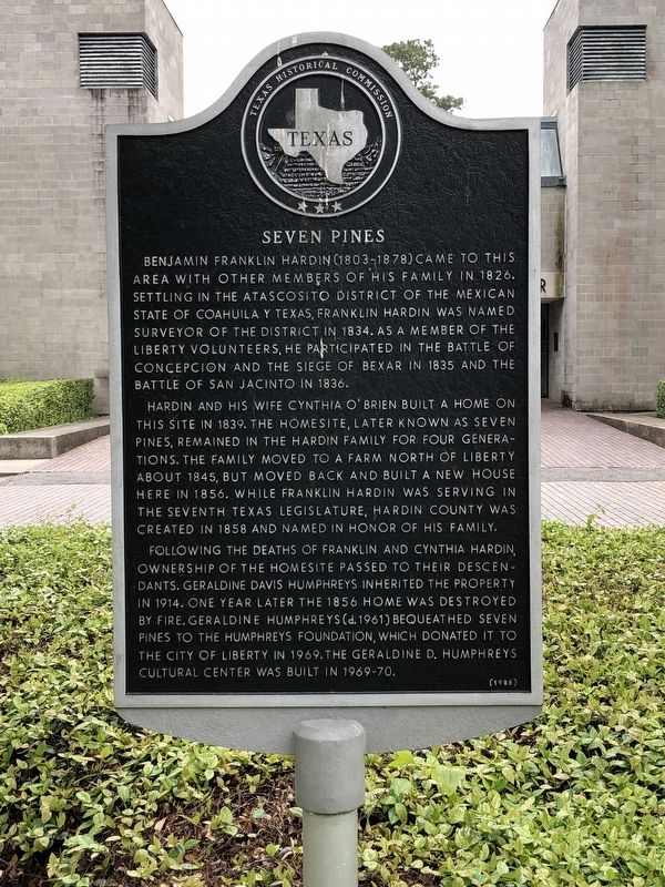 Seven Pines Marker image. Click for full size.