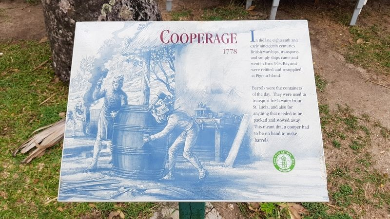 Cooperage Marker image. Click for full size.