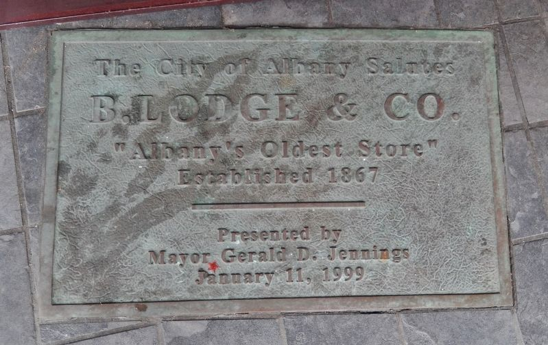 B. Lodge & Company Marker image. Click for full size.