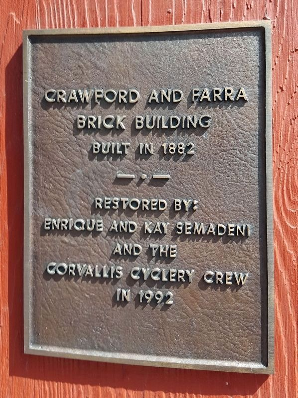 Crawford and Farra brick building image. Click for full size.