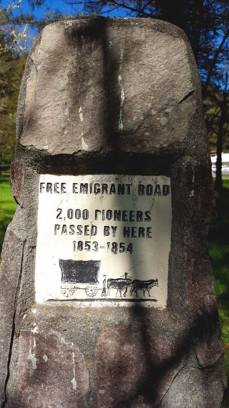 Free Emigrant Road Marker image. Click for full size.