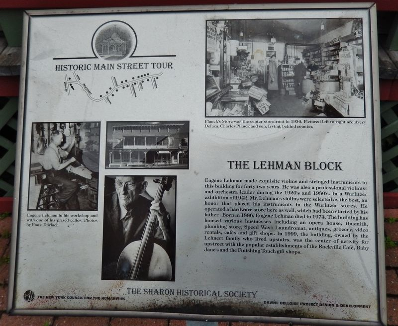 The Lehman Block Marker image. Click for full size.