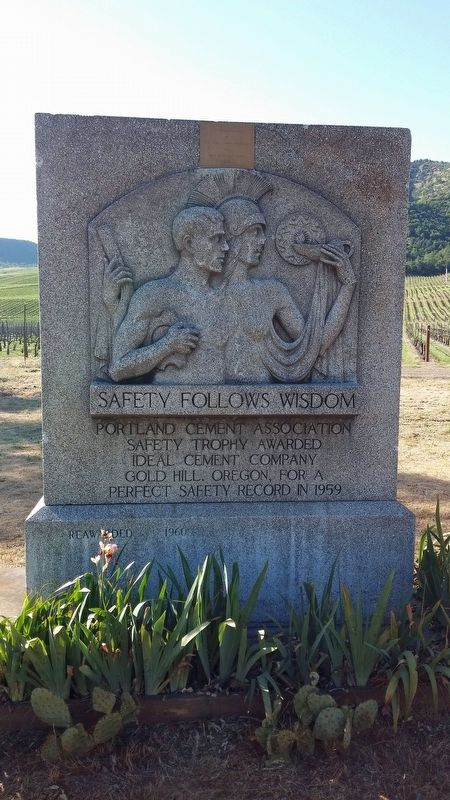 Safety Follows Wisdom Marker image. Click for full size.