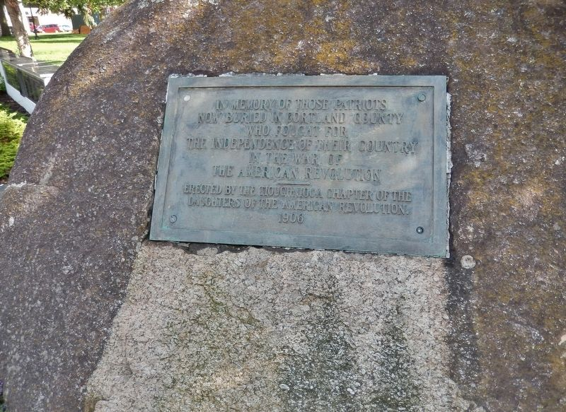American Revolutionary War Memorial (<i>tall view</i>) image, Touch for more information