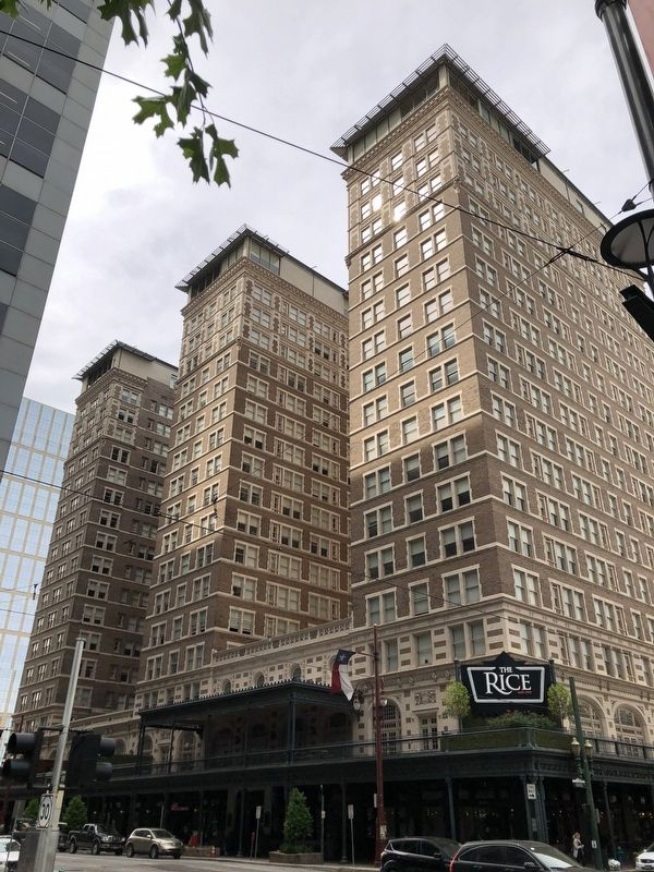 Rice Hotel Building image. Click for full size.